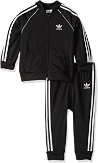 adidas Originals Kids' Toddler Superstar Track Suit Set