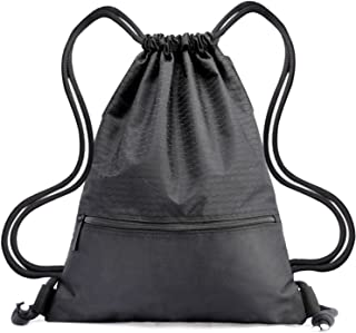 Drawstring Bag Waterproof Sport Foldable Sack Drawstring Backpack