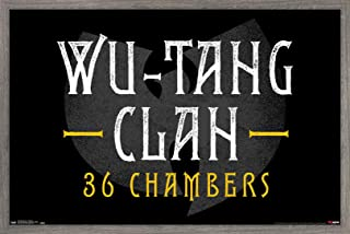 Trends International Wu-Tang Clan-36 Chambers Wall Poster, 22.375