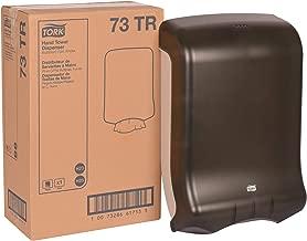 Tork 73TR Multifold and C-Fold Hand Towel Dispenser, Plastic, 18