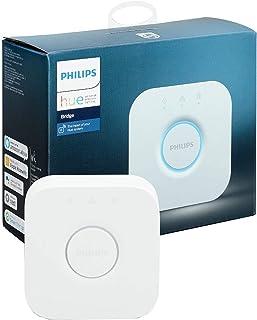 Philips Hue Pont de Connexion - Fonctionne avec Alexa - Compatible avec Apple Homekit Blanc 929001180601 S