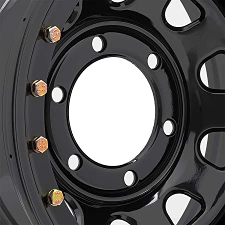 15x10//6x5.5 Pro Comp Steel Wheels Series 51 Wheel with Gloss Black Finish