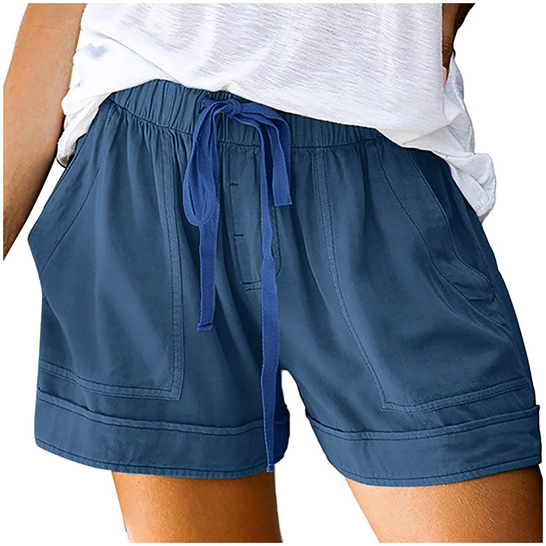 fartey Cargo Shorts Lounge Shorts for Women Padded Bike Shorts Board Shorts Underwear for Women Boyshorts,LightBlue,5X-Large