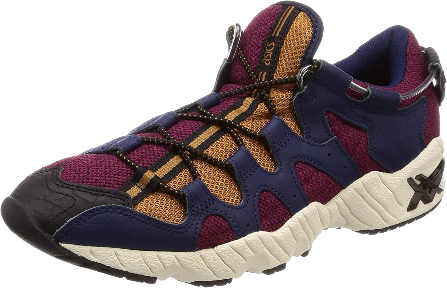 ASICS Men's Trainers Red Navy