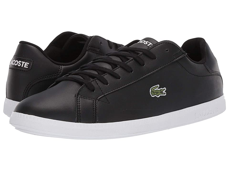 Lacoste Graduate BL 1 SMA (Black/White) Men