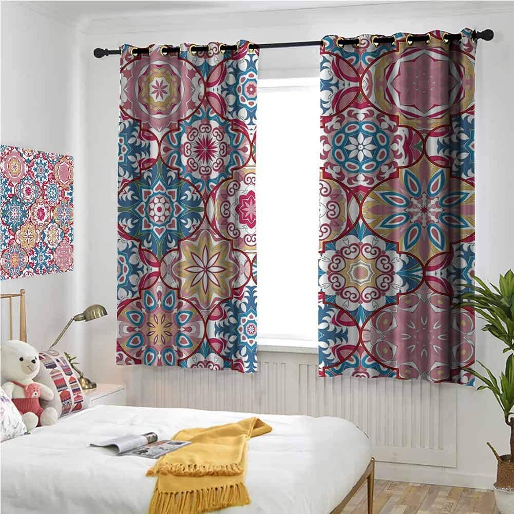 Teresa Sophy Grommet Curtains 84 Decor Col Lenght discount Moroccan 35% OFF Inch