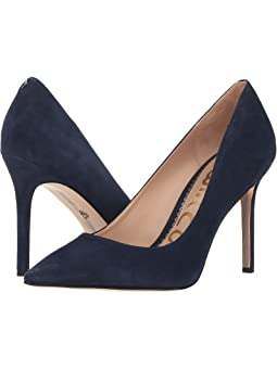 Blue suede pumps + FREE SHIPPING