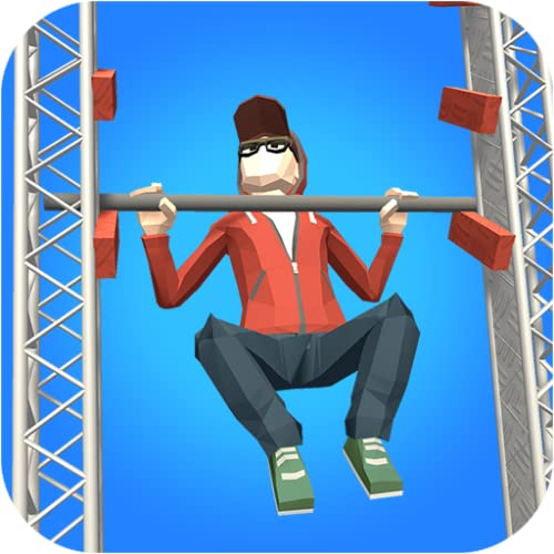 Pull-Ups! Best ninja warrior obstacle course game! If you like fitness, calisthenics, workout, training at the gym... download it now!