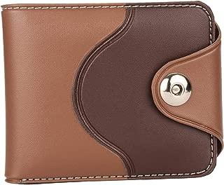Mundkar Tan Bi-Fold Wallet with Lock