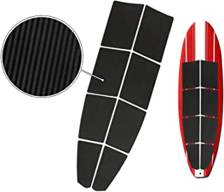 BPS 8-Piece Stand Up Paddleboard Longboard Grooved Tread Traction Deck Grip Pad with 3M Adhesives - Add Great Grip and Great Comfort to Your SUP in Minutes!