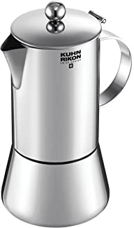 Kuhn Rikon 38093 JULIETTE acero inoxidable 0,2L 4 tazas inducción, 18/10_Steel