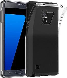 JETech Funda para Samsung Galaxy Note 4, Anti-Choques y Anti-Arañazos, Transparente