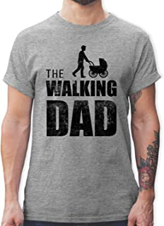 Shirtracer Vatertagsgeschenk - The Walking Dad - Tshirt Herren und Männer T-Shirts