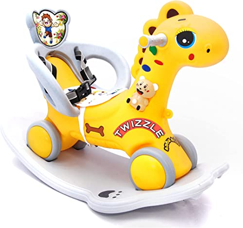 Twizzle Baby Horse Rider for Kids 1 5 Years Birthday Gift for Kids Boys Girls Horsey Rocker Ride on for Kids 1 Year