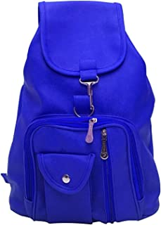 Bizarre Vogue Stylish College Bags Backpacks For Girls (Blue, BV980)