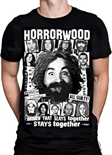 KND - HORRORWOOD - Men's T-Shirt - Black