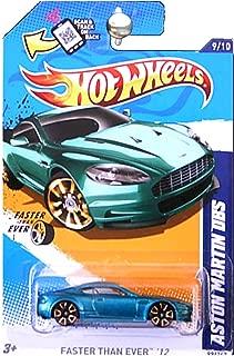 Hot Wheels 2012 Faster Than Ever Aston Martin DBS Green