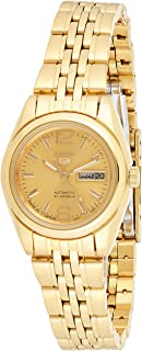 SEIKO Women's Automatic Watch, Analog Display and Stainless Steel Strap SYMA60J1