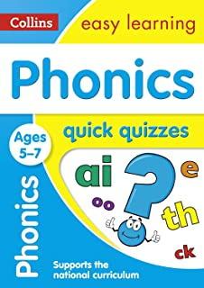 Phonics Quick Quizzes Ages 5-7: Ideal for Home Learning
