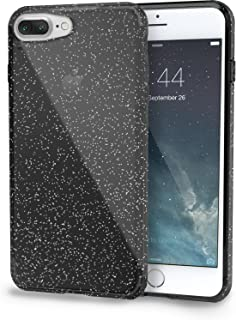 Smartish iPhone 8 Plus/7 Plus Clear Case - PureView for iPhone 8/7 [Ultra Slim Fit Protective Clear Cover] (Silk) - Smoked...