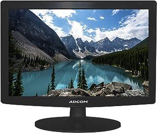 ADCOM 1510 (38.1 cm) 15.1 Inch LED Monitor with TN Panel - Black