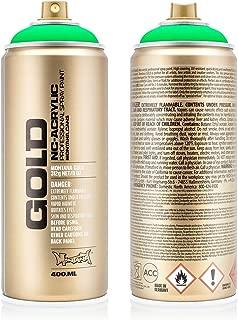 Montana Cans MXG-F6000 Montana Gold 400 ml Color, Acid Green Spray Paint,