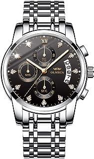 OLMECA Men's Watches Diamonds Wristwatches Sports Fashion...