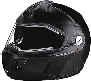 Ski-Doo New OEM Modular 3 Helmet Black Electric Heated Shield 2XL 4479641490
