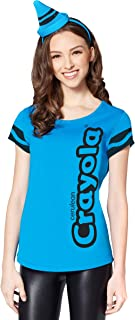 Women's Blue Crayola Crayon Costume Kit | Officially Licensed