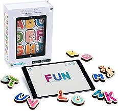 Marbotic - Smart Letters pour Tablettes iPad ou Samsung - De 3 à 5 Ans - Lettres Alphabet & Nombres Interactifs en Bois - ...