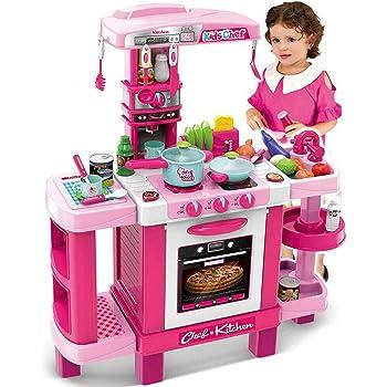 Cuoca ai fornelli Cucina giocattolo