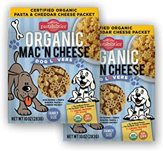 Pastabilities Organic Dog Lovers Mac 'n Cheese, 10 oz. (2-Pack)