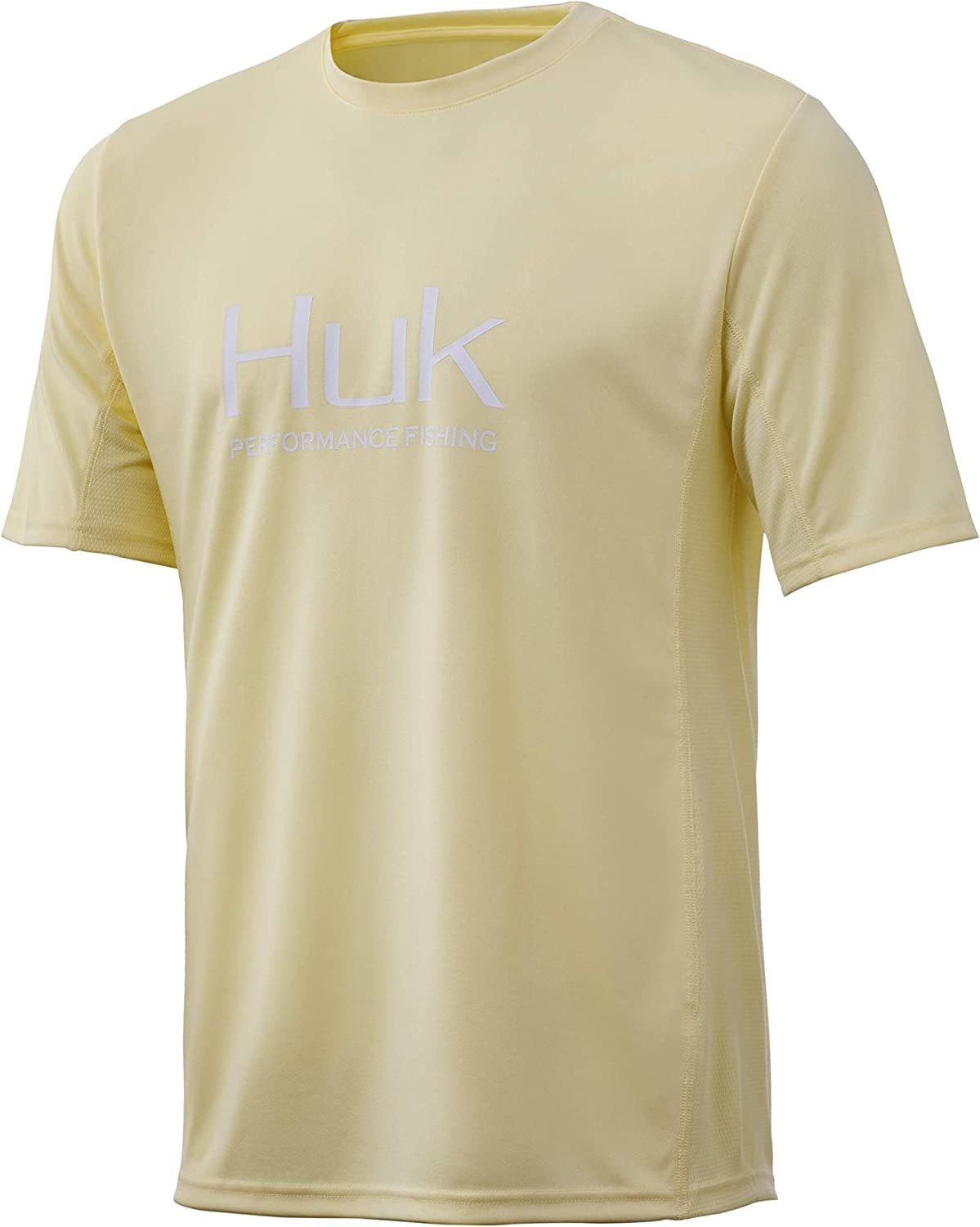 HUK Men's Icon X Short Sleeve Shirt Fishing 5% OFF Sun Protection with Rare