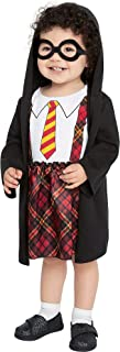 Party City Harry Potter Lil Plaid Wizard Costume for Babies, Size 12 Months to 24 Months, Robe, Outfit, and Glasses