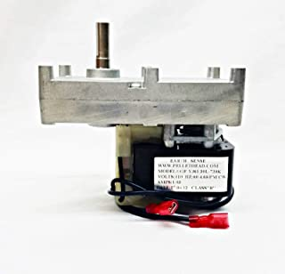 fireplace repl parts (New Part) Magnum Countryside Pellet Corn Stove Auger Motor - 4 RPM CW - MF3573 | PH-CW4 / firs for Many Models, Check in Description + (one Free Author's Book)