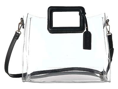 SOLE / SOCIETY Avah Tote (Black Combo) Handbags