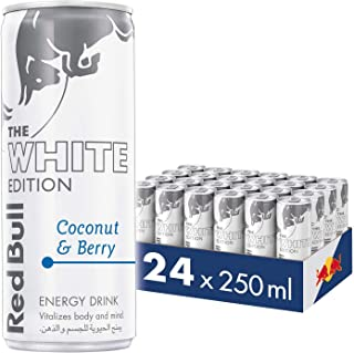 Red Bull Energy Drink, Coconut and Berry, 250 ml (24 pack)