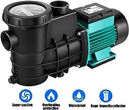 everfarel 230V Bomba de Filtro Bomba para Piscina Bomba, Verde (HZS-200 5000l/h)