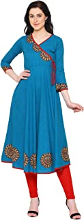 Yash Gallery Women's cotton anarkali Kurta