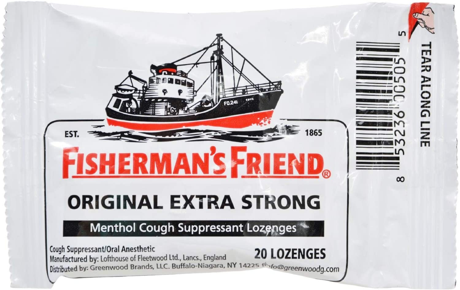 Fisherman's Friend Lozenges Original 25g Fees Limited time for free shipping free of Pack 3