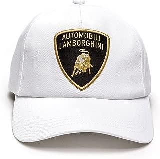 Automobili Lamborghini Official Men's Basic-Shield Cap