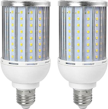 Eléctrica industrial Bombillas LED Granvoo 2Pcs E40 35W LED de maíz Luz Aleación de Aluminio Blanco Frío 192X2835 SMD AC 140-265V