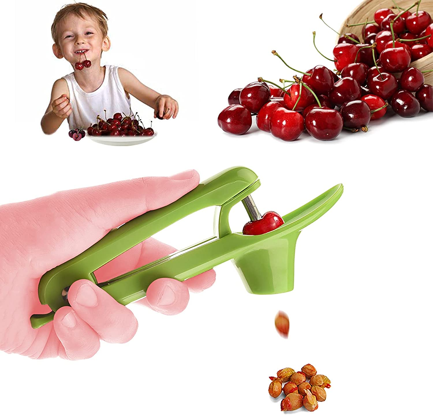 Cherry Pitter Machine, Fruit Seed Remover, Kitchen Tool Olive Re