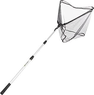 Fishing Net with Telescoping Handle- Collapsible and Adjustable Landing Net with Corrosion Resistant Handle and Carry Bag