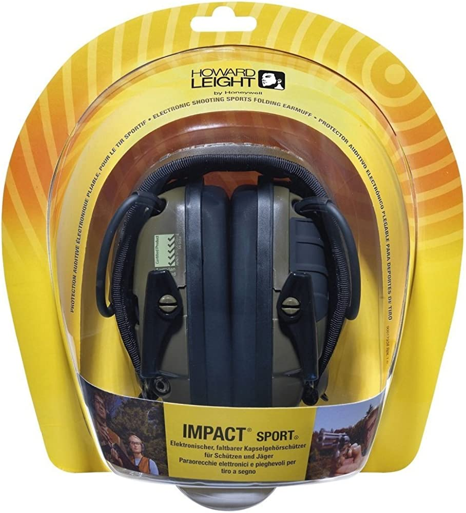 Howard Leight by Honeywell Impact 2021 autumn and winter new Elec Sound Amplification Sport Challenge the lowest price of Japan ☆