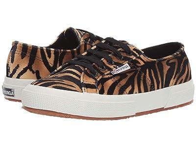 Superga 2750 Fanvelw (Cognac Zebra) Women