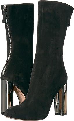 Alexander McQueen Sculpted Heel Fitted Bootie
