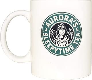 Aurora's mug, princess, sleepytime tea, Funny mug, Cool mug, Novelty mug, Ceramic mug, White mug, Coffee, Coffe cup, printing mug, gift mug