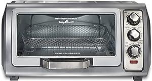Hamilton Beach 31523 Sure-Crisp Air Fryer Toaster Oven with Easy Reach Door, STAINLESS STEEL