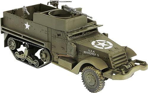 Forces Of Valor - M3A1 Half Track - ATTENTION   c'est une maquette à monter et peindre et PAS une miniature déjà montée - FOV87012